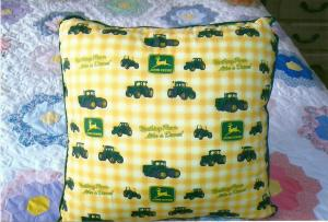 John Deere Pillow Many Styles and Colors