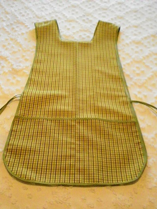 Green Plaid - Double Sided Apron