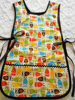 Owl - Double Sided Apron