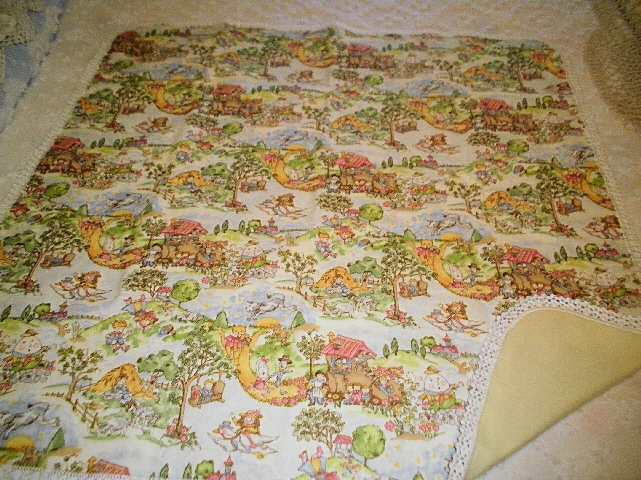 Nursery Flannel Blanket