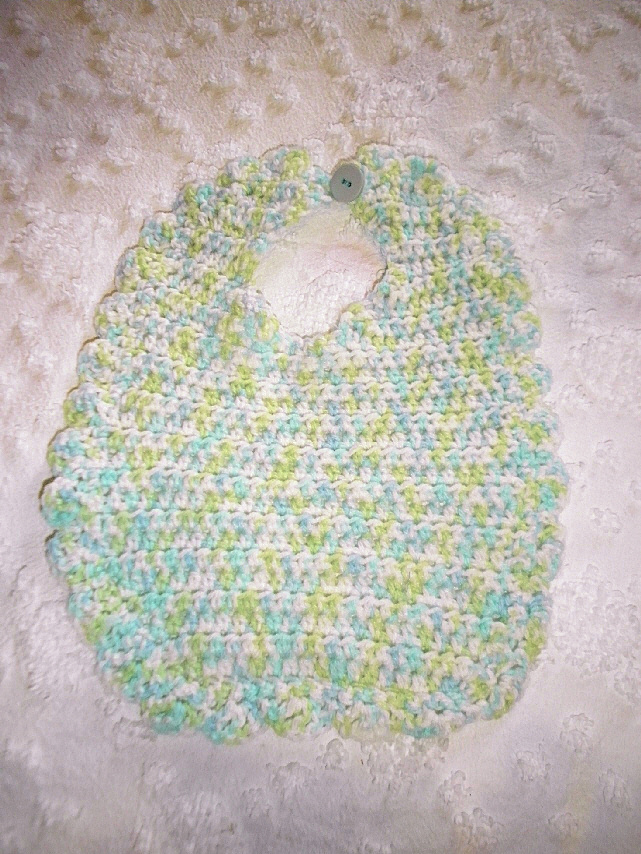 Green & Blue Bib