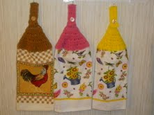 Rooster & Watering Can Kitchen Towels