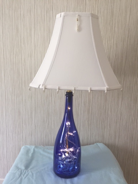 LED Lamp with  Shade