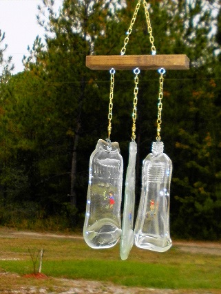 Red, White, & Blue Wind Chimes