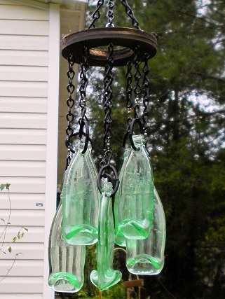 Wind Chime - 1oz Coke Bottles