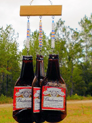 Wind Chime - Bud Bottles