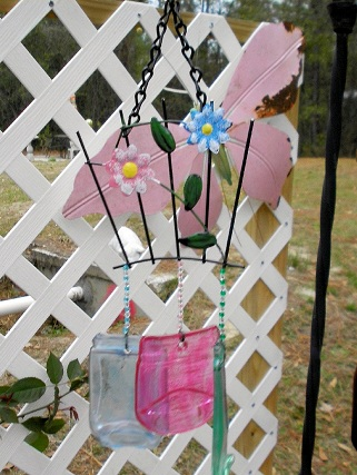 Trellis Wind Chime