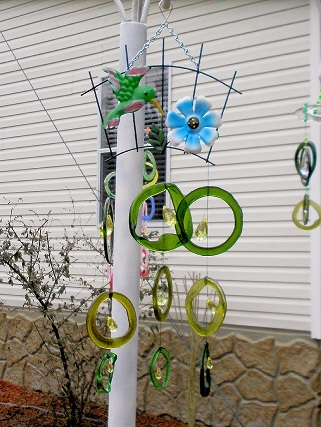 Humming Bird Wind Chimes